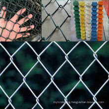 cheap PVC coated rhombus wire net fence price