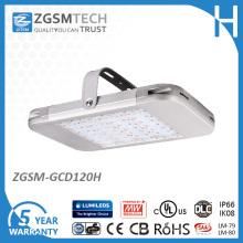 Lumière élevée industrielle de baie de 120W LED avec 60, 90, 110 degrés