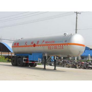 11.3m Two Axles Liquefied Gas Transport Semi-trailer