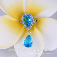 Top Quality zirconia with pearl Brooch For Wedding Bouquet wholesale hijab pins