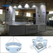 Aluminiumausstellungsdesign / Ausstellungsbildschirmanzeige / Aluminium bohrt Designs in Shanghai, Porzellan
