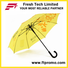 23 Zoll Auto Open Gerade Umbrella für Custom