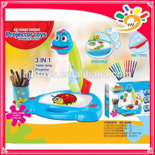 2014 HOT SELLING PRODUCTS! 3-IN-1 PROJECTION PAINTING KE HONG SHENG 8548 projector toys best gift for kids