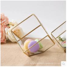 Atacado vidro Martini Vasos Glass Flower Pot