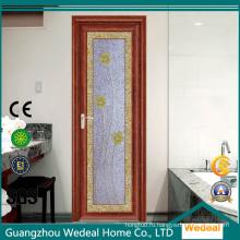 Внутренняя алюминиевая дверь для виллы / дома ванной комнаты / туалета