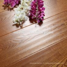Plancher en bois massif à trois couches EN BOIS À CHÊNES ENGINEÉE