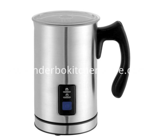 automatic stainless steel coffee maker milk frother milk foamer and warmer