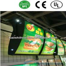 Caja de luz delgada de alta calidad LED para señal de publicidad