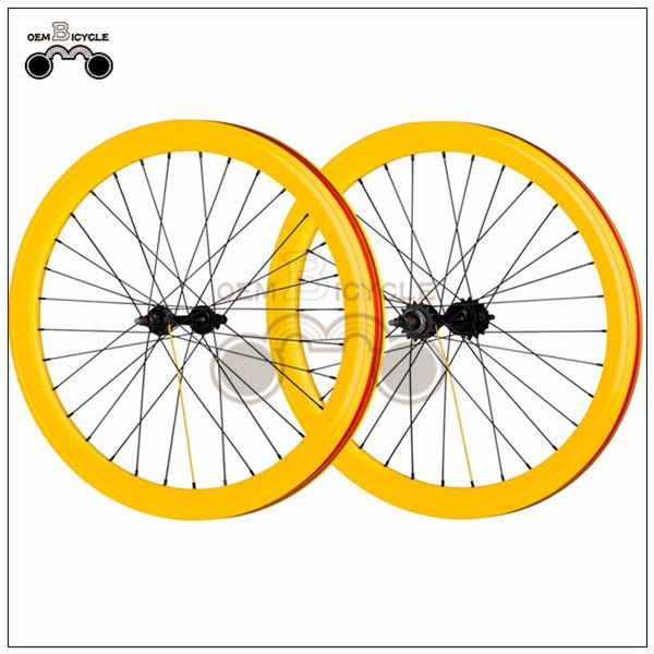 700C 40mm fix double-walled aluminum wheelset14