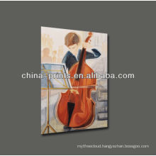 Violoncello Oil Painting