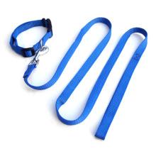 Nylon dog collar and leash, pet collar and lead