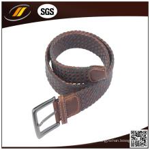 Venda quente Moda Trançado Elástico Corda Stretch Jeans Belt