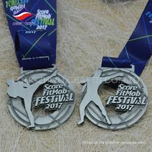 Custom The Taekwondo medalhas Boxe medalha
