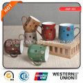 Promotion New Bone China Coffee Mug Color Glazed