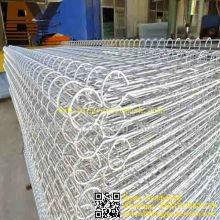 PVC recubierto doble círculo malla de alambre