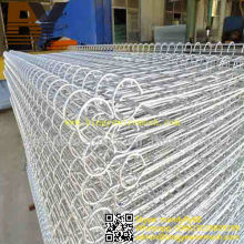 PVC Coated Double Circle Wire Mesh Fence