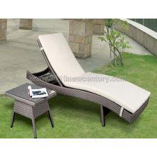 Sillón, Chaise longue, tumbona, silla de la rota, salón sofá, Sillón cama, cama del sol (5068)