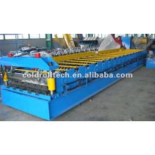machine de fabrication de feuille de toit en acier par profilage