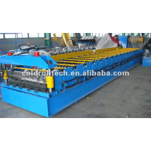 steel roof sheet making machine by roll forming