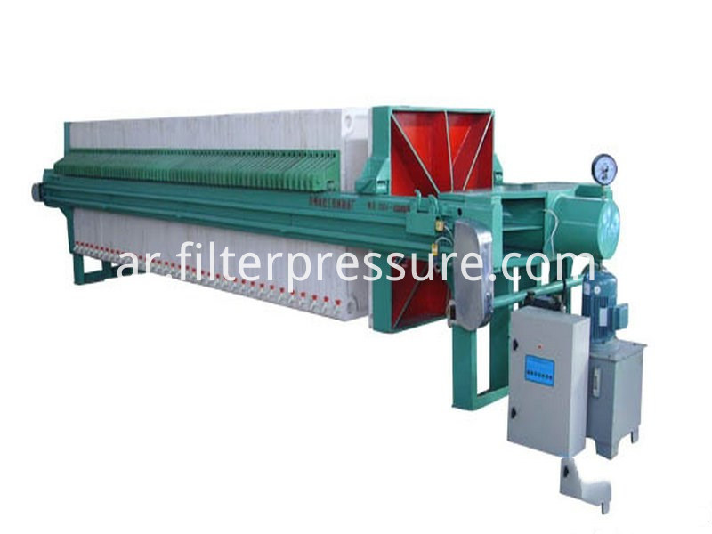 Sewage Cast Iron Filter Press 7