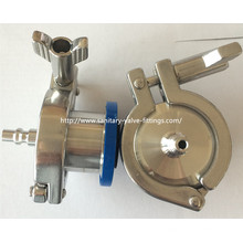 "Tri-Clamp&Reg Ends ""a"" Type (air coupler) EPDM Ball Air Blow - Check Valves"
