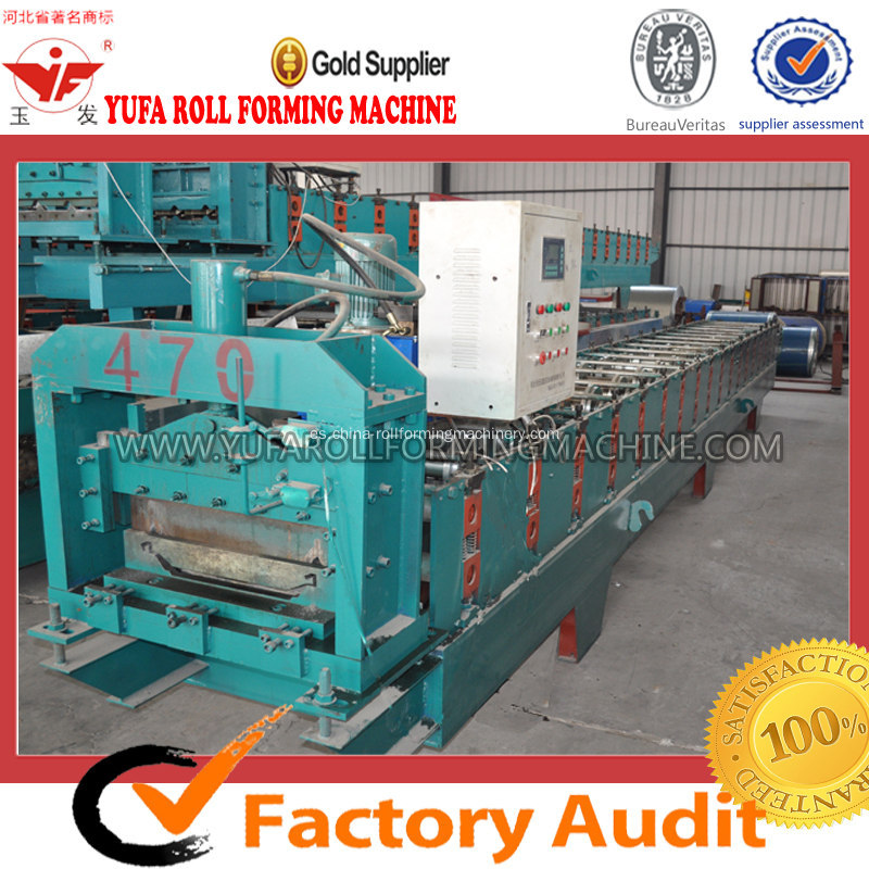 Venta caliente JCX Color Steel Roof Making Machine