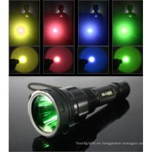 Accesorios de buceo multi filtros de color para linternas / 45mm lente de linterna C8