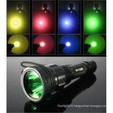 Diving accessories multi color filters for flashlights /45mm C8 flashlight lens