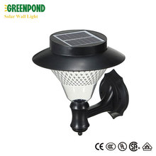 Mushroom Solar Wall Light for Yard Path