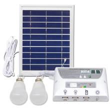 Kit de iluminação verde dobrável multifuncional para painel solar