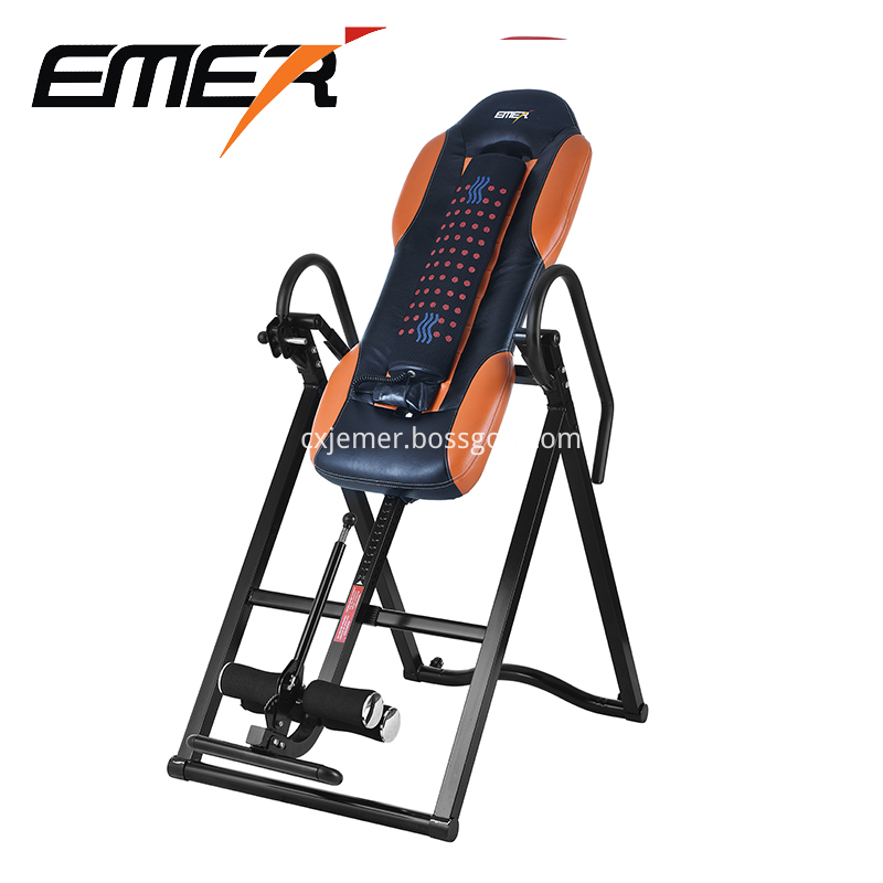 luxury inversion table with massager