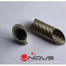 Highly efficient high-performance Titanium tubes