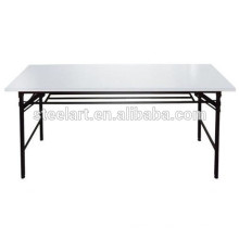 Steel Folded Adjustable Reading Table for school library