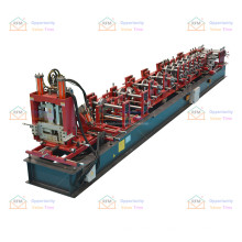 Durable in use c z purlin roll forming machine full automatic steel frame & purlin machines