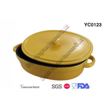 Stoneware Bake Pan with Lid