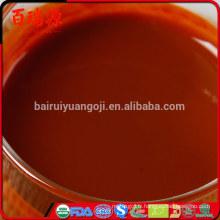 Le jus de baie de jus de goji de fraîcheur bénéficie des avantages de santé de jus de baies de goji avantages de jus de baies de goji avec dans des échantillons gratuits