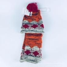 Bonnet à tricoter modèle de tricot foulard
