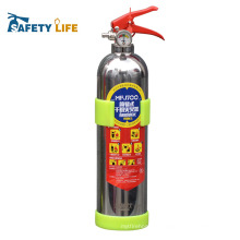 Empty bottles/stainless steel foam/car fire extinguisher mini foam
