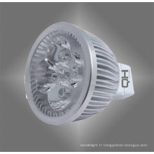 Lampe à LED 5W MR16 aluminium alliage