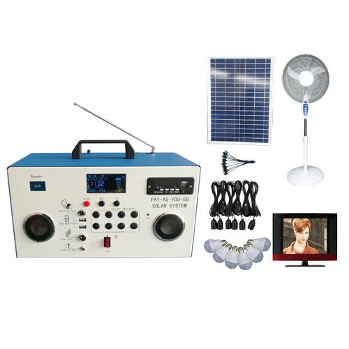 60w Paygo solar home system