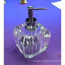 Мода и специальный 80 мл белый стеклянная бутылка мыла