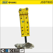 Martillo hidráulico del martillo 1.5ton, martillo de Corea para la excavadora