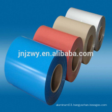 8011 color coated aluminium gutter coil with cheap price