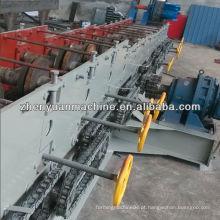 Fabricação de máquina de formação de rolo c purlin