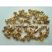Custom various style and color metal claw beads