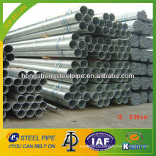 8 inch sch 10 hot dip galvanized steel pipe/tube made in China