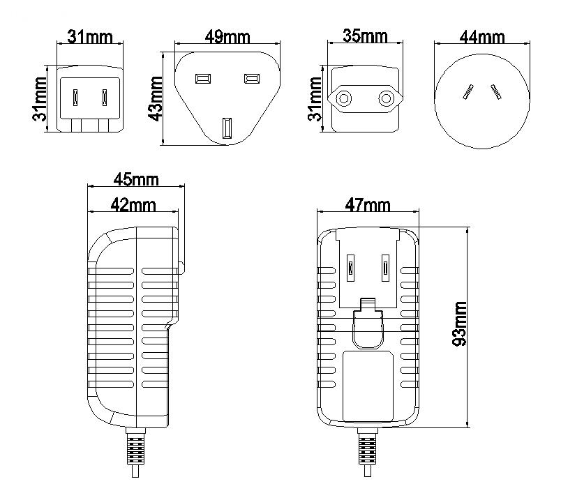 36w Interchangeable Adapter