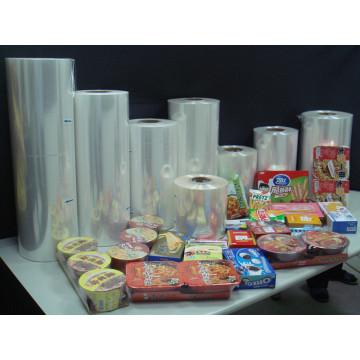 Película retráctil POF para alimentos y artículos envueltos con FDA