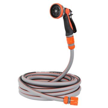 1/2 garden hose with spray gun