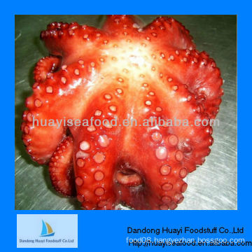 frozen boiled baby octopus